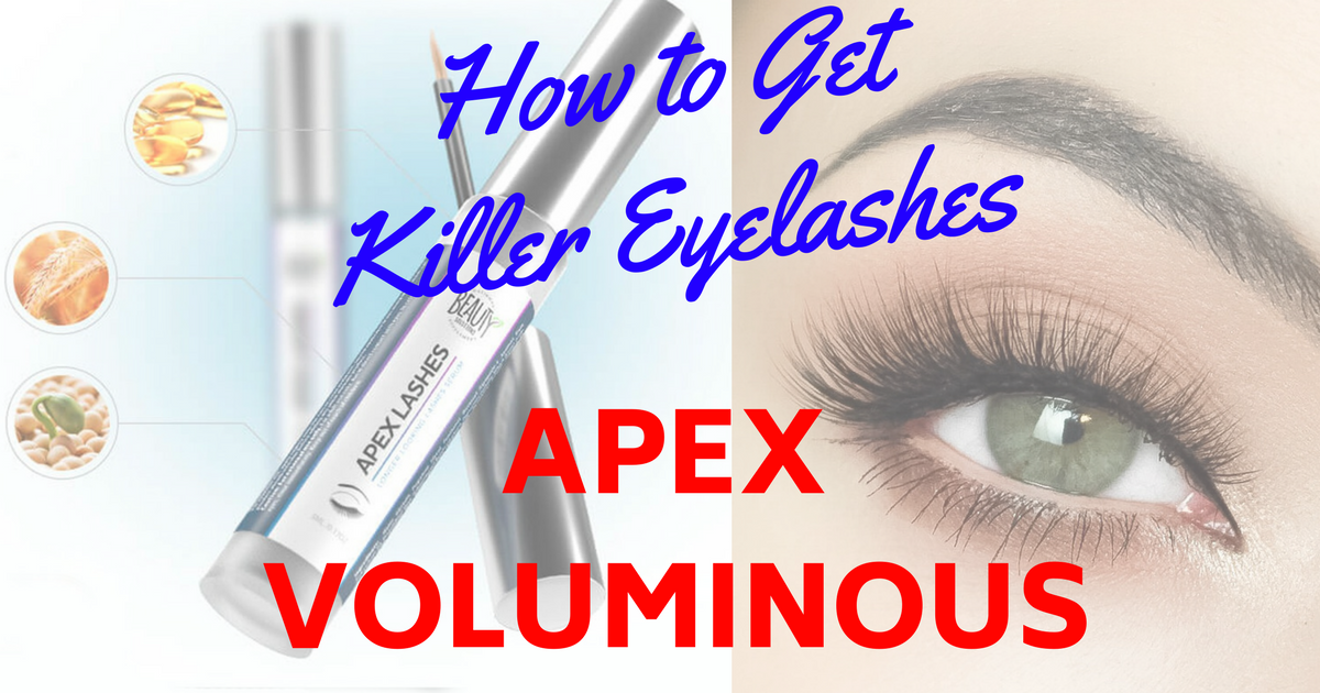Apex Voluminous Eyelashes Review Ingredients Side Effects Benefits