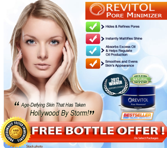 Revitol Pore Minimzer Review